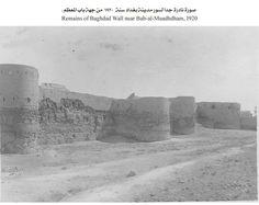 صورة نادرة لسور مدينة بغداد من جهة باب المعظم عام 1920 Baghdad, Old Pictures, Monument Valley, Mount Rushmore, Paradise, History, Antique Photos, Historia, Old Photos