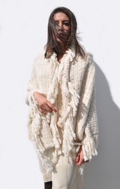 Fringe Blanket by Lauren Manoogian #shopbird15 #SS14