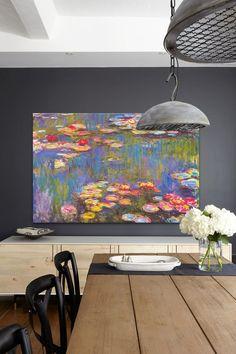 Water Lilies 1916 by Claude Monet Canvas Wall Art   HauteLook