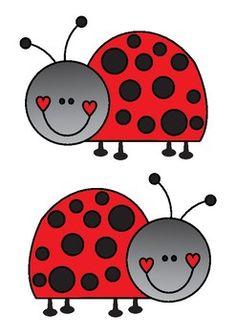 Ladybug Bulletin Board Set / Classroom Welcome Door Decoration - Printables Art Drawings For Kids, Art For Kids, Crafts For Kids, Ladybug Bulletin Boards, Classroom Welcome, Classroom Decor, Ladybug Crafts, Ladybug Decor, Valentines Art