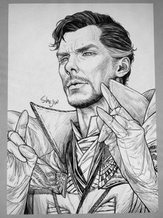 The Master of the Mystic by 백작伯爵 doctor strange fan art Marvel Avengers, Marvel Art, Marvel Heroes, Marvel Comics, Ms Marvel, Captain Marvel, Drawing Cartoon Characters, Character Drawing, Cartoon Drawings