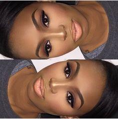 22 ideas makeup looks dark skin african americans Flawless Makeup, Gorgeous Makeup, Love Makeup, Makeup Looks, Hair Makeup, Makeup Ideas, Makeup Tutorials, Makeup Art, 80s Makeup