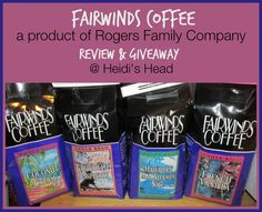 Rogers Family Company ~ Coffee Review & Giveaway  I love #RogersCoffee   thanks to Heidi at What's Going On in Heidi's Head, and of course, #RogersCoffee
