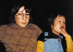 ♡♥Julian with his half brother Sean - click on pic to see a larger pic in a better looking black background♥♡