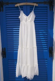 Beloved Summer Maxi Chiffon Dress - Dress - Retro, Indie and Unique Fashion