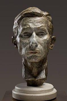 """Magician"" (Bust) Bronze h: 19 x w: 9 x d: 11 in #RichardMacDonald #Sculpture"
