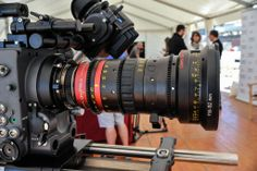 The Angénieux ultra compact 0ptimo 56-152mm anamorphic zoom lens