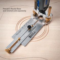 Soundhole and Rosette Routing Jig | stewmac.com