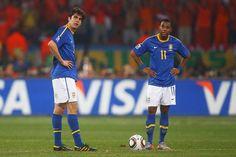Kaká e Robinho podem ganhar lugar da molecada na seleção de Dunga - Esportes - R7 Futebol