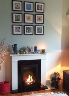 Classic, Traditional Carrington bio ethanol Fireplace. #bioethanol #interiordesign #cosy #home