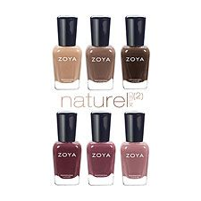 Zoya Naturel 2 Neutral Nail Polish Collection