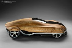 Behance :: Editing Audi Aerodynamics Wood