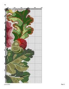 127579-6b356-43493029-m750x740-u71da9 (541x700, 118Kb) Cute Cross Stitch, Cross Stitch Flowers, Cross Stitch Charts, Cross Stitch Patterns, Cross Stitching, Cross Stitch Embroidery, Cutwork, Rug Making, Needlepoint