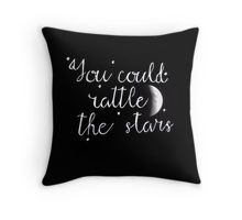 Rattle the Stars Throw Pillow