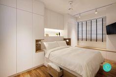 Small Master Bedroom, Master Bedroom Design, Bedroom Designs, Bed Designs, Small Bedroom With Wardrobe, Modern Bedroom, Dream Bedroom, Girls Bedroom, Master Suite