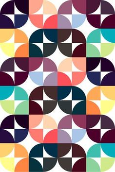 Gorgeous patterns by Graphic Nothing (via modish) Possible quilt pattern #patchwork#retro#butterfly