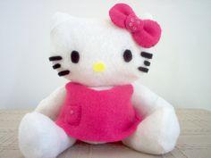 Hello Kitty - boneca de pano e feltro