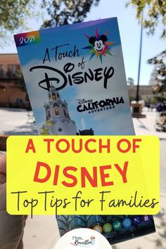 A Touch of Disney at Disney California Adventure park is a limited-time event. This is the must-read guide to help maximize time & make the most of the experience. Here's what to do with kids, must-try foods, what activities are included in the ticket price and how to plan your day. Get tips on PhotoPass and photo ops, what to pack with you for the day & lots of other surprises including why to head to Pixar Pier first! #ATouchofDisney #Disneyland #Disney #California #DisneyTips #Photopa Disney Vacation Club, Disney Cruise Line, Disney Travel, Disney World Tips And Tricks, Disney Tips, Disney Magic, Disneyland Restaurants, Disneyland Resort, Disney Photo Pass