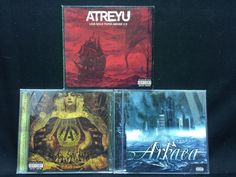 Atreyu CD/CDs Lot: Lead Sails Paper 2.0 + Years in the Darkness + Congregation