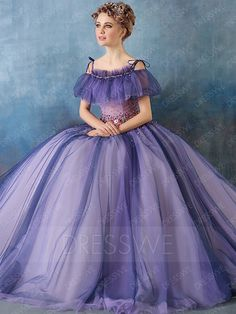 Vintage Ball Gowns Dresses, Cheap Vintage Ball Gown Dresses Online for Sale Purple Evening Dress, Formal Evening Dresses, Dress Formal, Evening Gowns, Ball Gowns Prom, Ball Gown Dresses, Prom Dresses, Dress Prom, Wedding Gowns