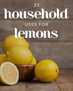 Lemon makes for a great DIY all-natural cleaning product.