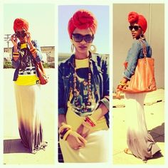 afro chic | Afro-Indy Chic / I feel like this is me all over.. the graphic tee ...