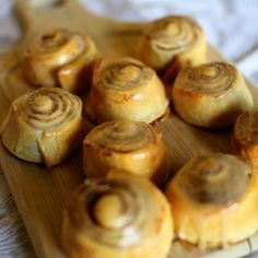 Warm, Flakey, Cinnamon Sweet Rolls...You will never guess they are only 77 calories each!