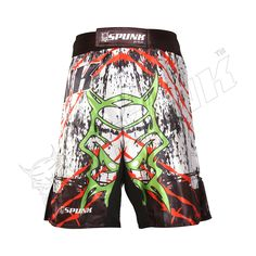RDX Thermal Compression Flex Shorts /& Gel Groin Cup Guard MMA Short Muay Thai JK