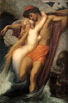 Frederic, Lord Leighton. The Fisherman and The Siren. Leighton was an early Commanding Officer of The Artists Rifles and one of five members of the Regiment to be elected President of the Royal Academy.