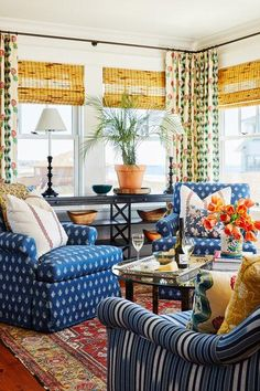 A Colorful Maine Beach House by Katie Rosenfeld
