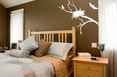 Nesting Birds Tweet Tweet Wall Mural Decal Sticker Home Decor