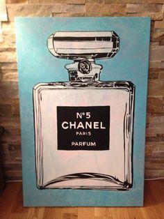Pop art Barbo Chanel