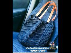 une idée de sac au crochet pour l'été : c'est maintenant qu'il faut y penser, un sac parfait pour les vacances mais pas que !!! Loom Crochet, Crochet Hooks, Knitted Bags, Crochet Accessories, Tote Bag, Purses, Knitting, Search Engine, Macrame