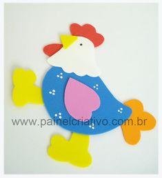 molde galinha eva decoracao cozinha (1)