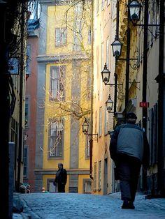 | ♕ | Good Old Stockholm - Gamla Stan | by © simo2582 | via ysvoice