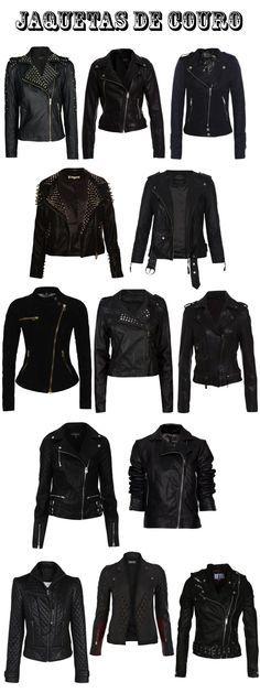 Não importa a roupa que você coloque, uma jaqueta de couro sempre vai cair bem e vai deixar o visual muito melhor! <3