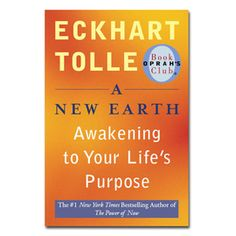 A New Earth by Eckhart Tolle ... reading this is like meditating, it's enlightening, thought-provoking and relaxing