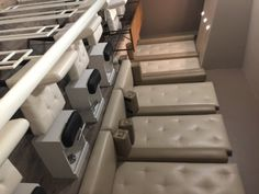 Pedicure stations at Windsor Arms Hotel Spa Pedicure Station, Salt Cave, Hotel Spa, Windsor, Toronto, Stuff To Do, Things To Do, Arms, Home Decor