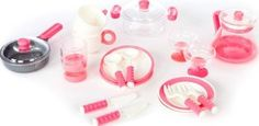 Barrutoys Kitchen pots set Pink `One size Length : 30 cm, Height : 29 cm. Details : 1 casserole, 1 pan, 2 cover(s), 1 cafetière, 2 plate(s), 2 deep plate, 2 Glass(es), 2 Cup, 2 bowl(s), 2 forks, 2 knives, 2 spoons Age : From 3 years old http://www.comparestoreprices.co.uk/january-2017-7/barrutoys-kitchen-pots-set-pink-one-size.asp