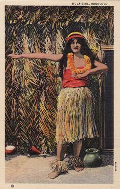 hula girl . http://www.ebay.com/itm/HAWAIIAN-HULA-GIRL-DANCER-DOLL-1920S-1930S-JOINTED-OIL-CLOTH-/120997463465