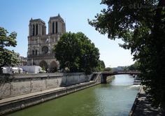 The Pont au Double is a pedestrian bridge which connects almost directly to the Notre Dame Cathedral in the heart of Paris.  See more www.eutouring.com/images_pont_au_double.html