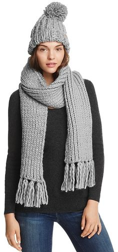 Barbour Chunky Knit Hat & Scarf Set #ad #knittersofinstagram