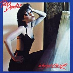 USED VINYL RECORD 12 inch 33 rpm vinyl LP Released in 1979, In the Heat of the Night is the Platinum certified debut studio album by American recording artist Pat Benatar (Chrysalis Records CHR 1236)