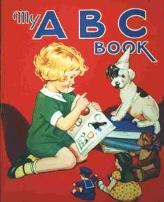 Enid Blyton Nursery Rhymes, Nursery Art, Enid Blyton Books, Alphabet Books, Read It And Weep, Occasion Bags, Little Golden Books, Vintage Children's Books, Book Illustration