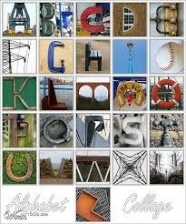 letters found in everyday objects - Google Search