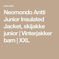 Neomondo Antti Junior Insulated Jacket, skijakke junior | Vinterjakker barn | XXL