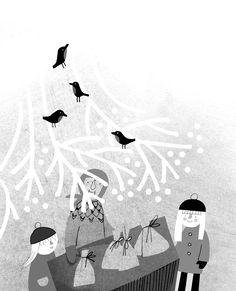 """ilustracje - Marianna Oklejak  """"8 + 2 i domek w lesie"""" - Wydawnictwo Dwie Siostry"""