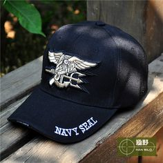 01a4692530b 2015 US Army fans SEALs Outdoor tactics flat cap Baseball hat free shipping
