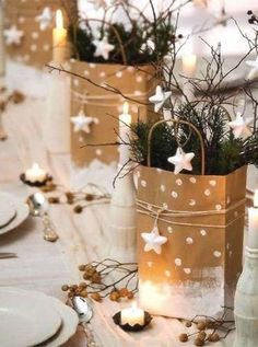 50 Fabulous and Simple Holiday Decorating Ideas via @PureWow