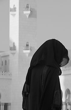 Image result for hijab black and white tumblr